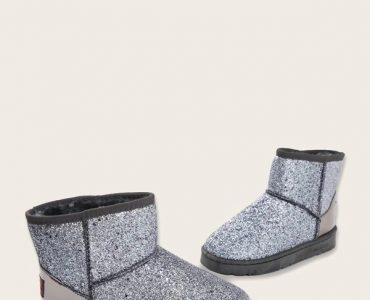 Glitter Snow Boots
